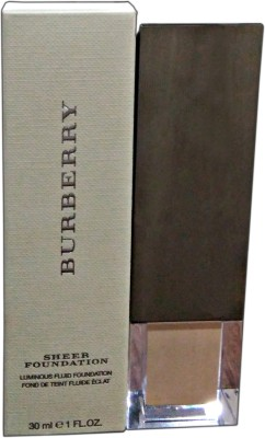 Burberry Sheer Luminous Fluid  Foundation