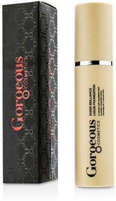 Gorgeous Cosmetics Sheer Brilliance Liquid  Foundation