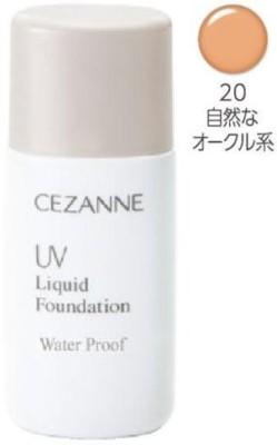 Cezanne UV Liquid Foundation R Waterproof Foundation