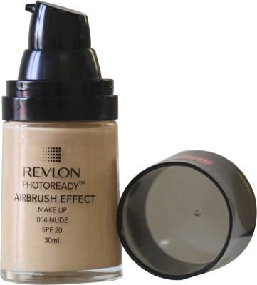 Revlon Photo Ready Air Brush Effect Make Up Spf 20 - Nude Foundation