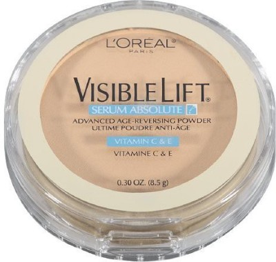 L,Oreal Paris Visible Lift Powder, Advanced Age Reversing Foundation