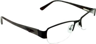 Myew Eyewear Half Rim Rectangle Frame