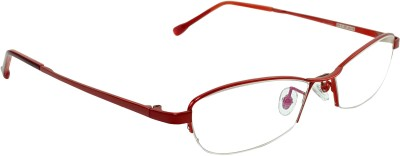 Myew Eyewear Half Rim Oval Frame
