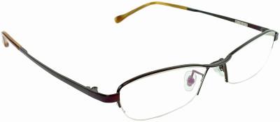 Myew Eyewear Half Rim Oval Frame(53 mm)