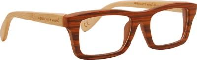 Absolute Wood Full Rim Rectangle Frame