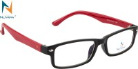 NuVew Full Rim Rectangle Frame(51 mm)