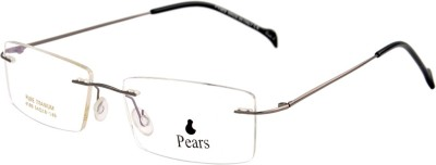 Pears Rimless Square Frame