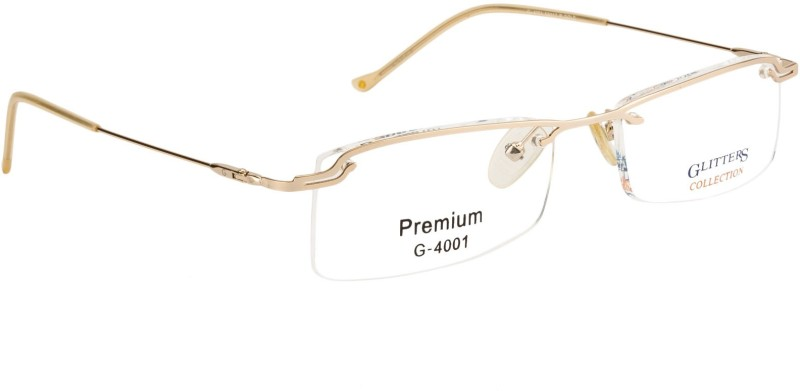 Glitters Half Rim Rectangle Frame(52 mm)