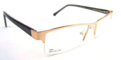The Indigo Sky Half Rim Rectangle Frame