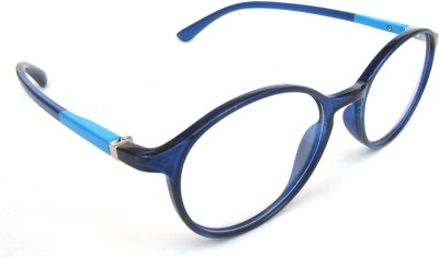 The Indigo Sky Full Rim Round Frame
