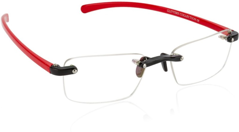 Glitters Rimless Rectangle Frame(55 mm)