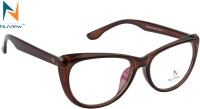 NuVew Full Rim Cat-eyed Frame(54 mm)