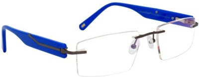 LaurelDale Rimless Rectangle Frame