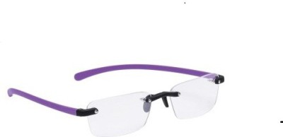 New Zovial Rimless Rectangle Frame