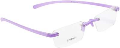 HDClair Rimless Rectangle Frame