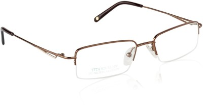 Glitters Half Rim Rectangle Frame