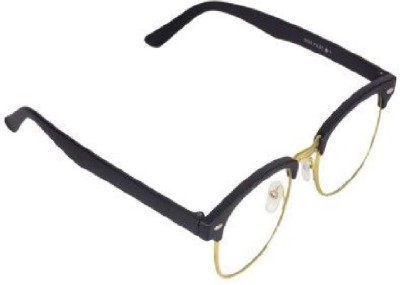 AccurateOpticals Half Rim Square Frame