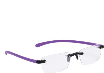 Bellina Rimless Rectangle Frame