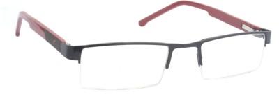 Optic Range Half Rim Rectangle Frame