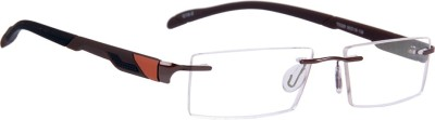 Tommy Style Rimless Rectangle Frame