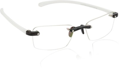 Glitters Rimless Rectangle Frame