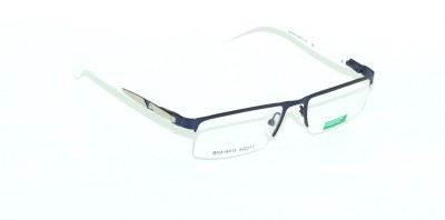 United Colors of Benetton Half Rim Rectangle Frame