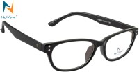NuVew Full Rim Oval, Rectangle Frame(53 mm)