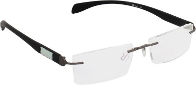 Glaze Iwear Rimless Rectangle Frame