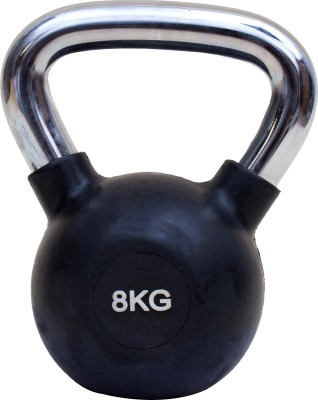 De Jure Fitness Imported Chrome Handle Kettlebell