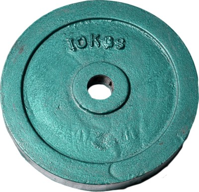 Royal 10kg_1pc_Casting_green_plates Weight Plate