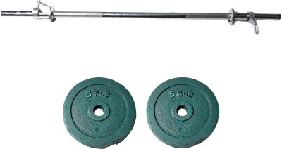 Royal 5kg_2pc_Casting_green_plate+3ft_1pc_Straight_rod_withlock1 Weight Plate