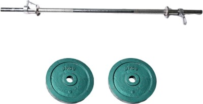 Royal 8kg_2pc_Casting_green_plate+3ft_1pc_Straight_rod_withlock1 Weight Plate