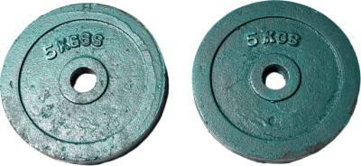Royal 5kg_2pc_Casting_green_plates_For_22mm_Rod Weight Plate