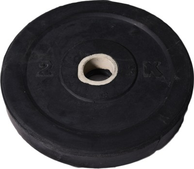 Royal 2kg_1pc_Low_Cost_black_plates_For_22mm_Rod Weight Plate