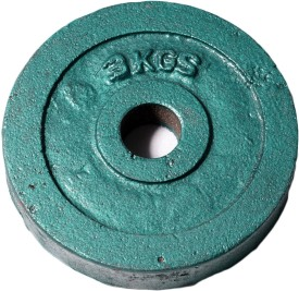 ROYAL 3kg_1pc_Casting_green_For_22mm_Rod Weight Plate