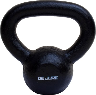 De Jure Fitness Imported High Quality Black Kettlebell