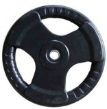 Indus. Rubber Coated Weight Plate (2.5 k...