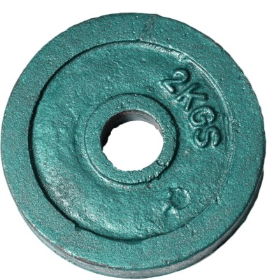 Royal 2kg_1pc_Casting_green_plates Weight Plate