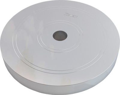 Vinex Weight Plates - Iron (Chrome Plated, 1 Pc, 5 Kg) Weight Plate