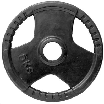 Gymnasio Rubber Grip Olympic 51 Mm Weight Plate
