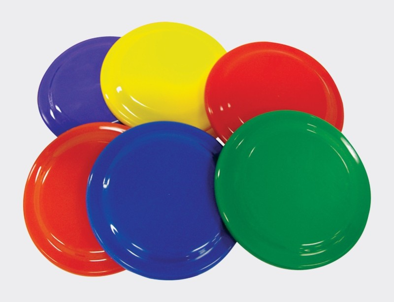 TIMA Flying Disc (Multicolor) Plastic Sports Frisbee(Pack of 6)