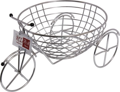 KCL Fruity Cycle Stainless Steel Fruit & Vegetable Basket(Steel)