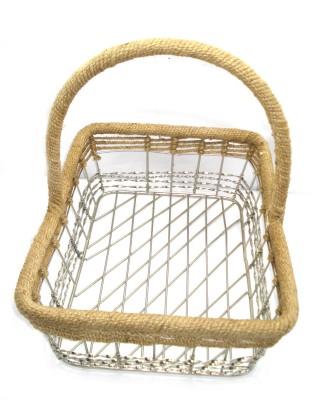 Fusion Gallery Handmade Iron Fruit & Vegetable Basket