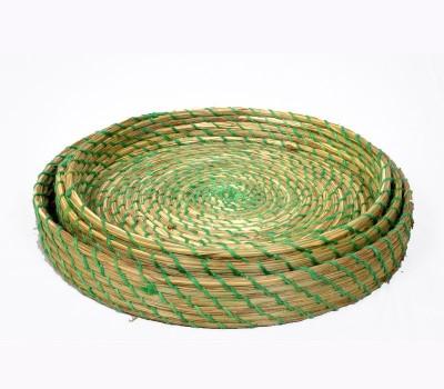 MayurShilpa Sabai Grass Jute Fruit & Vegetable Basket