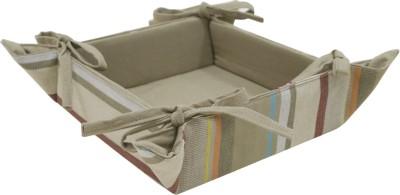 Elan 4H06BB-VINTAGE STRIPE Cotton Fruit & Vegetable Basket