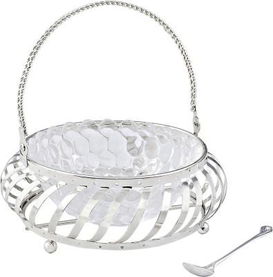 Silver Galerie Designer Cast Iron Fruit & Vegetable Basket