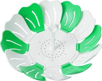 Gold Dust Shreeji Self Adjustable Foldable Lotus Shape Plastic Fruit & Vegetable Basket