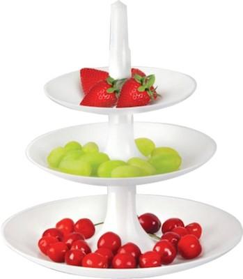 Jazam Waterfall Multiutility Folding Tray Plate Bowl Serving Set