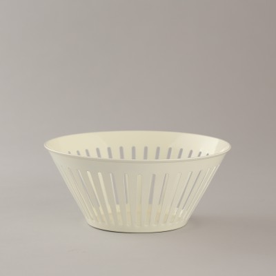 Indecrafts Iron Fruit & Vegetable Basket(White)
