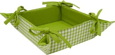 Elan 4H16BB-GREEN Cotton Fruit & Vegetable Basket